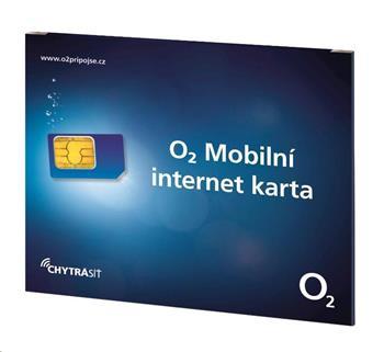 O2 předplacený mobilní internet pro iPad 3G