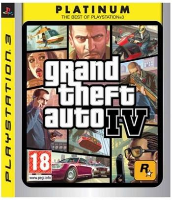 PS3 Grand Theft Auto IV (GTA 4)
