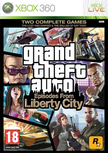 X360 Grand Theft Auto Episodes from Liberty City