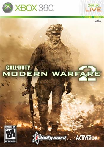X360 Call of Duty: Modern Warfare 2