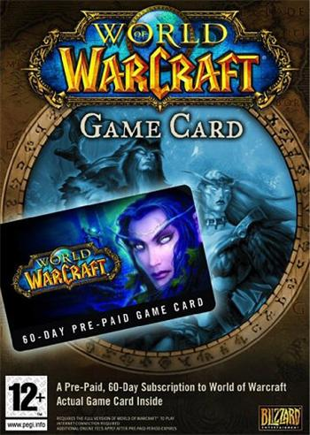 PC World of Warcraft: předplacená karta