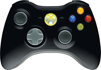 Microsoft Xbox 360 Gamepad bezdrátový pro Windows, USB