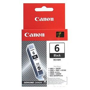 Canon BCI-6BK; 4705A002