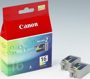 Canon BJ CARTRIDGE colour BCI-16CL (2pcs) twin; 9818A002