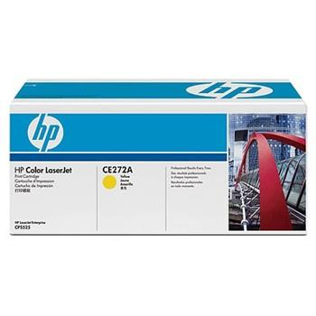 HP Toner Cart Yellow pro CLJ CP5525, CE272A ; CE272A