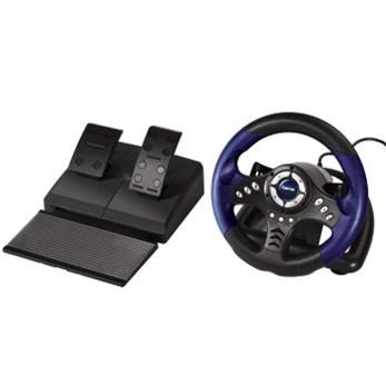 """HAMA multimediální volant pro PC """"V18"""", USB"""