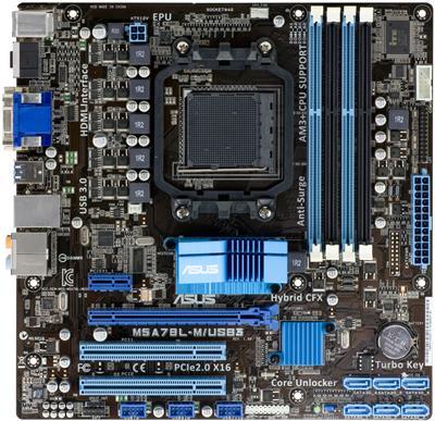 ASUS M5A78L-M/USB3; 90-MIBG70-G0EAY00Z