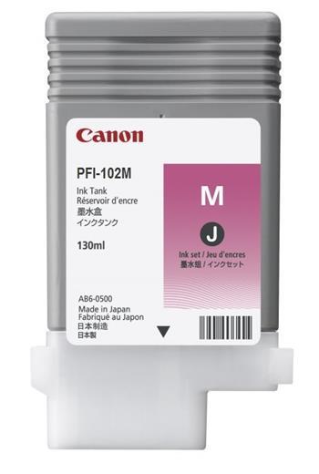Canon zásobník inkoustu PFI-102, Magenta (D); 0897B001AA