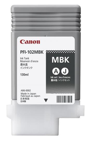 Canon zásobník inkoustu PFI-102, Matt Black (PG); 0894B001