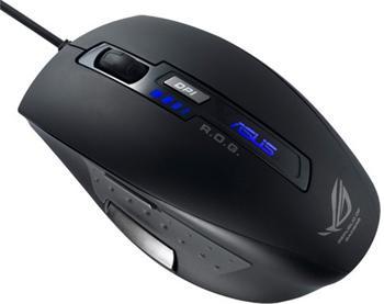 ASUS myš GX850 - herní myš, černá