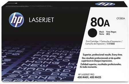 Černá tonerová kazeta HP 80A LaserJet
