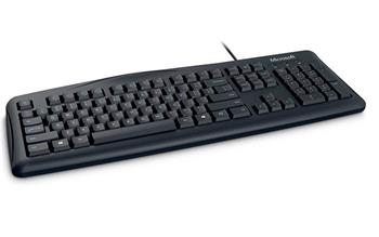 Microsoft Wired Keyboard 200 USB black, RUSKÁ
