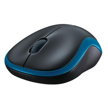 Logitech Wireless Mouse M185, modrá