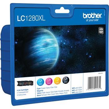 Brother LC-1280XL - originální; LC1280XLVALBP