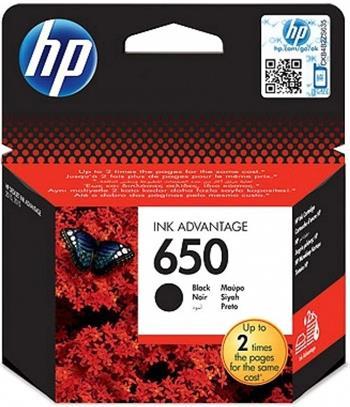 Černá inkoustová kazeta HP 650