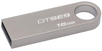 Kingston 16GB DataTraveler SE9 kov; DTSE9H/16GB