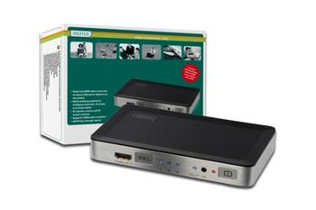 DIGITUS HDMI elektronický přepínač 3=1 (311840) ; DS-44300