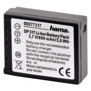 Fotoakumulátor Li-Ion 3,7V/800mAh, Panasonic CGA-S007E; 77317