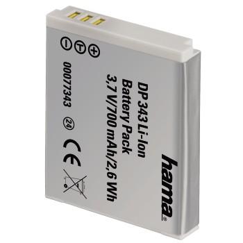 Fotoakumulátor Li-Ion 3,7V/700mAh, Canon typ NB-6L; 77343