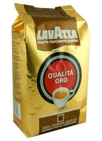 Lavazza Qualitá Oro zrnková káva 1 kg; 8000070035904