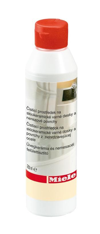 MIELE čistič sklokeramických desek a nerezu 250 ml; 4002515088883