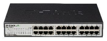 D-Link 24-Port Gigabit Switch, 24x 10/100/1000 Mbit; DGS-1024D/E