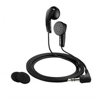Sennheiser MX 170 - sluchátka, špunty, černá; 4044155054729
