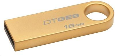 Kingston DataTraveler GE9 16GB, zlatý
