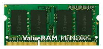 Kingston ValueRAM DDR3 8GB, 1333MHz, CL9, SO-DIMM; KVR1333D3S9/8G