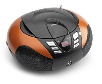 Lenco SCD-37 USB Oranžová; lscd37usbor