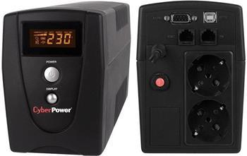 CyberPower Value SOHO LCD 600VA; VALUE600ELCD-FR