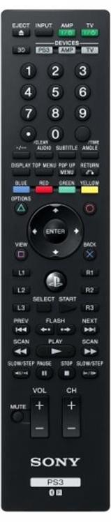 PS3 Blu-Ray Remote Control V2; PS719182580