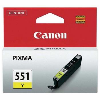 Canon CLI-551Y - yellow; 6511B001