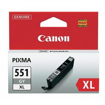 Canon CLI-551 XL GY, šedá velká; 6447B001