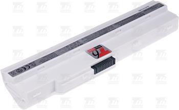 T6 power baterie BTY-S12, BTY-S11, 957-N0111P-004, 957-N0111P-005, 3715A-MS6837D1, 6317A-RTL8187SE, TX2-RTL8187SE, bílá; NBPR0025