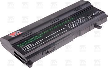 T6 power PA3399U-1BAS 9200 mAh Li-ion - neoriginálníT6 power baterie PA3399U-1BAS, PA3399U-1BRS, PA3399U-2BAS, PA3399U-2BRS, PA3400U-1BAS, PA3400U-1BRL, PA3400U-1BRS; NBTS0046