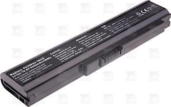 T6 power baterie PA3593U-1BAS, PA3593U-1BRS, PA3594U-1BAS, PA3594U-1BRS, PABAS111, PABAS110; NBTS0070