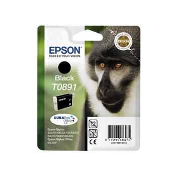 Epson T0891 inkoust černý pro Epson Stylus S20, S21, SX110, SX115, SX2100, SX215, SX410, SX415 ; C13T08914011