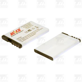 Baterie pro Nokia 5220 Xpress Music, Nokia 5220 XM, Li-ion, 1200mAh; MTNK0041