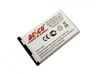 Baterie pro Nokia 5800 Xpress Music, N900, Li-ion, 1300 mAh