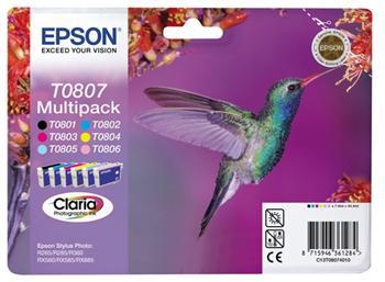 Epson T0807; C13T08074011