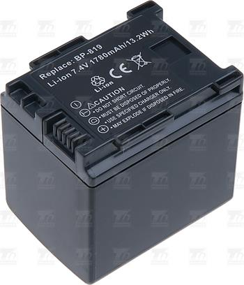 T6 power baterie BP-809, BP-819; VCCA0033