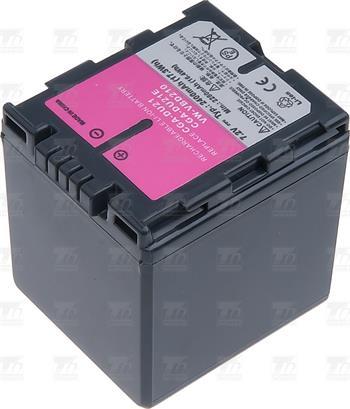T6 power baterie VW-VBD210, CGA-DU21E/1B, DZ-BP14SW, CGA-DU14, CGR-DU06, CGR-DU07, šedá; VCPA0013