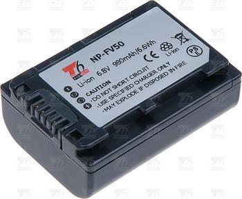 T6 power baterie NP-FV50, NP-FV30; VCSO0053