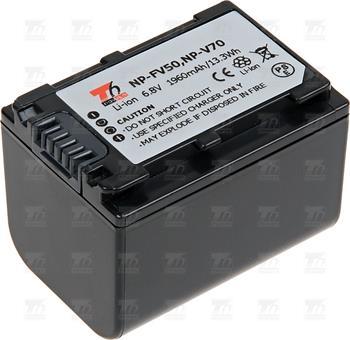 T6 power baterie NP-FV70, NP-FV50, NP-FV30; VCSO0054