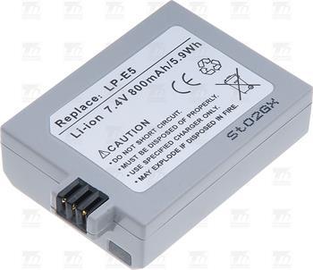 T6 power baterie LP-E5; DCCA0012