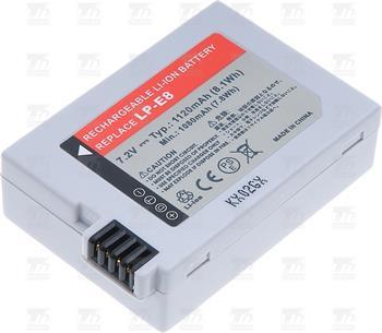 T6 power baterie LP-E8; DCCA0016