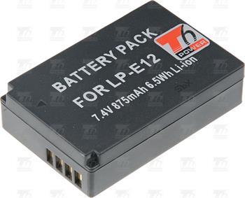 T6 power baterie LP-E12; DCCA0022