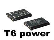T6 power baterie Li-40B, Li-42B, D-Li63, NP-45, KLIC-7006, EN-EL10, 02491-0066-00, NP-80, NP-82, NP-45A, NP45, D-Li108, DS5370, NP-45B; DCOL0005