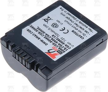 T6 power baterie CGA-S006, CGA-S006E, CGA-S006A/1B, CGA-S006E/1B, CGR-S006, CGR-S006E, CGR-S006E/1B, DMW-BMA7, BP-DC5-E, BP-DC5-J,